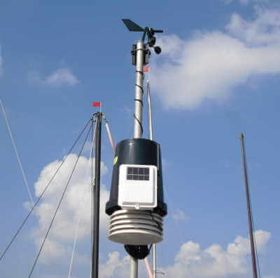 Wetterstation am Brombachsee